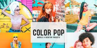 Free Color Pop Lightroom Presets