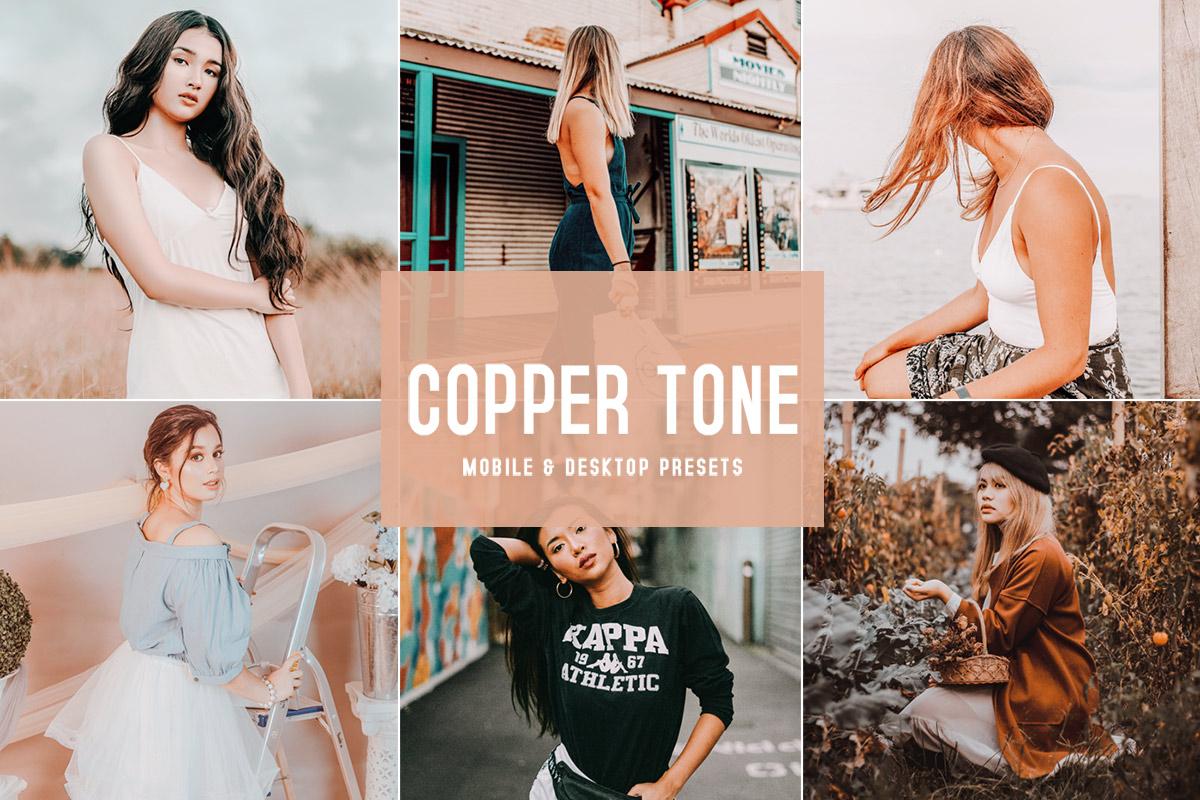 Free Copper Tone Lightroom Presets