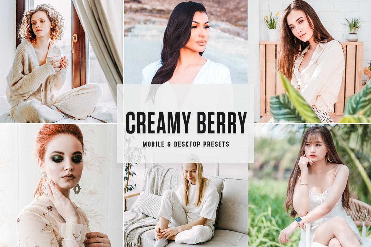 Free Creamy Berry Lightroom Presets