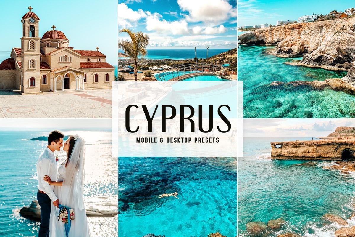 Free Cyprus Lightroom Presets