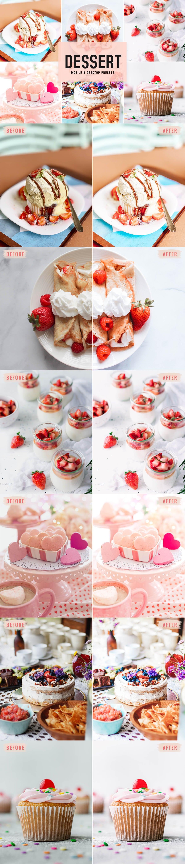 Free Dessert Lightroom Presets