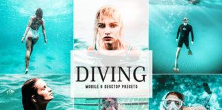 Free Diving Lightroom Presets