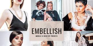 Free Embellish Lightroom Presets