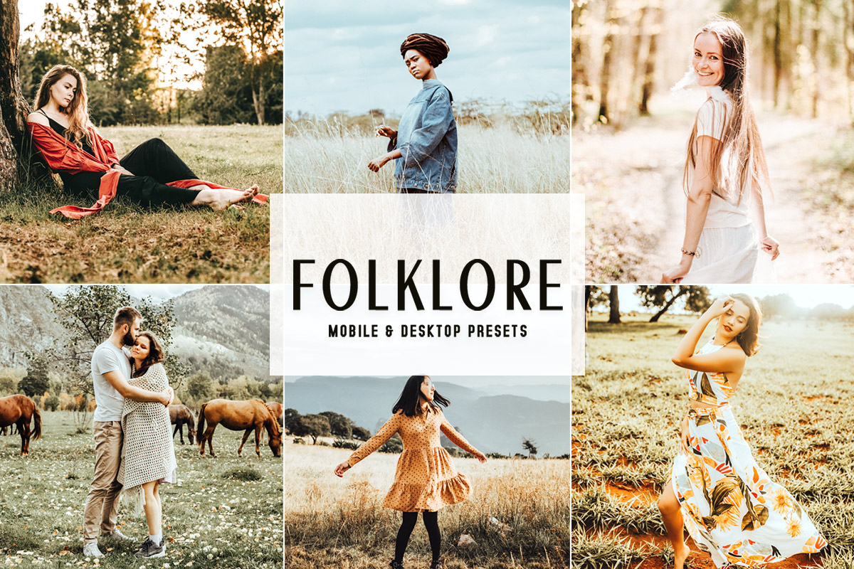 Free Folklore Lightroom Presets