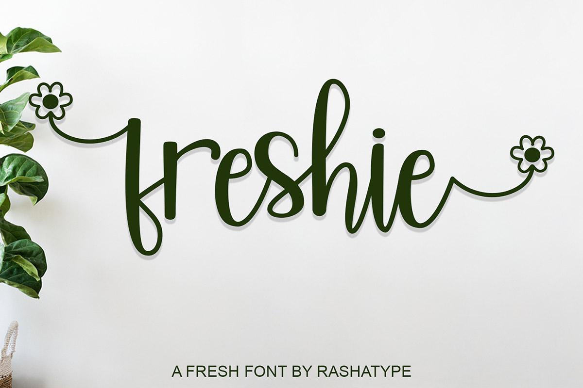 Free Freshie Handwritten Font