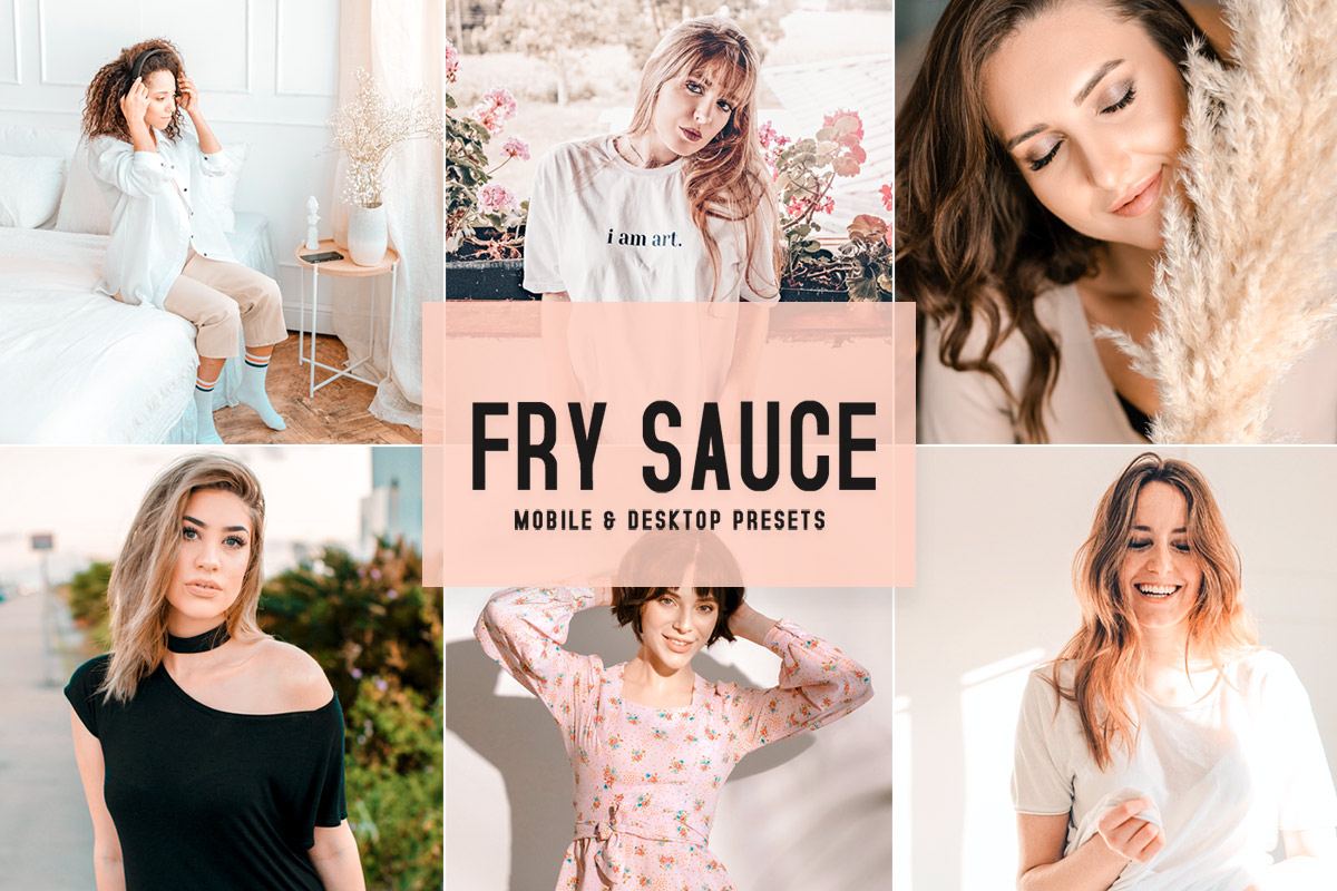 Free Fry Sauce Lightroom Presets