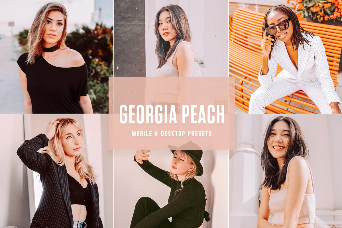 Free Georgia Peach Lightroom Presets