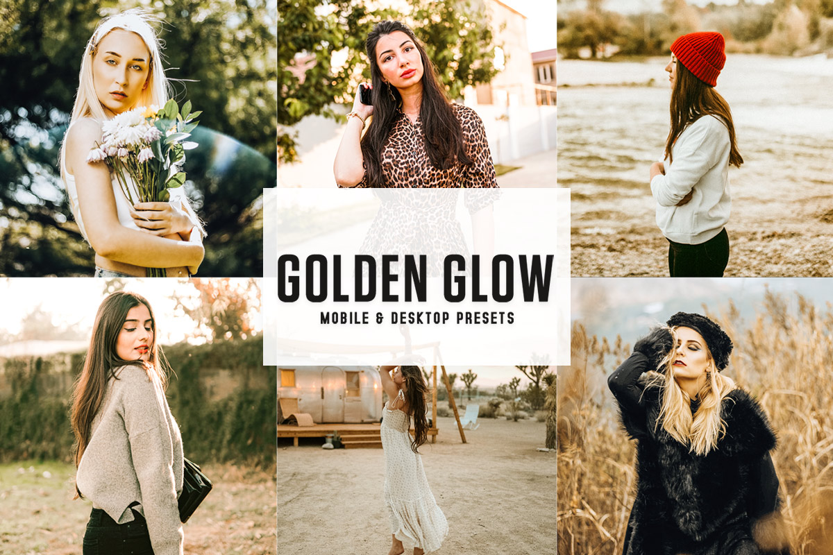 Free Golden Glow Lightroom Presets