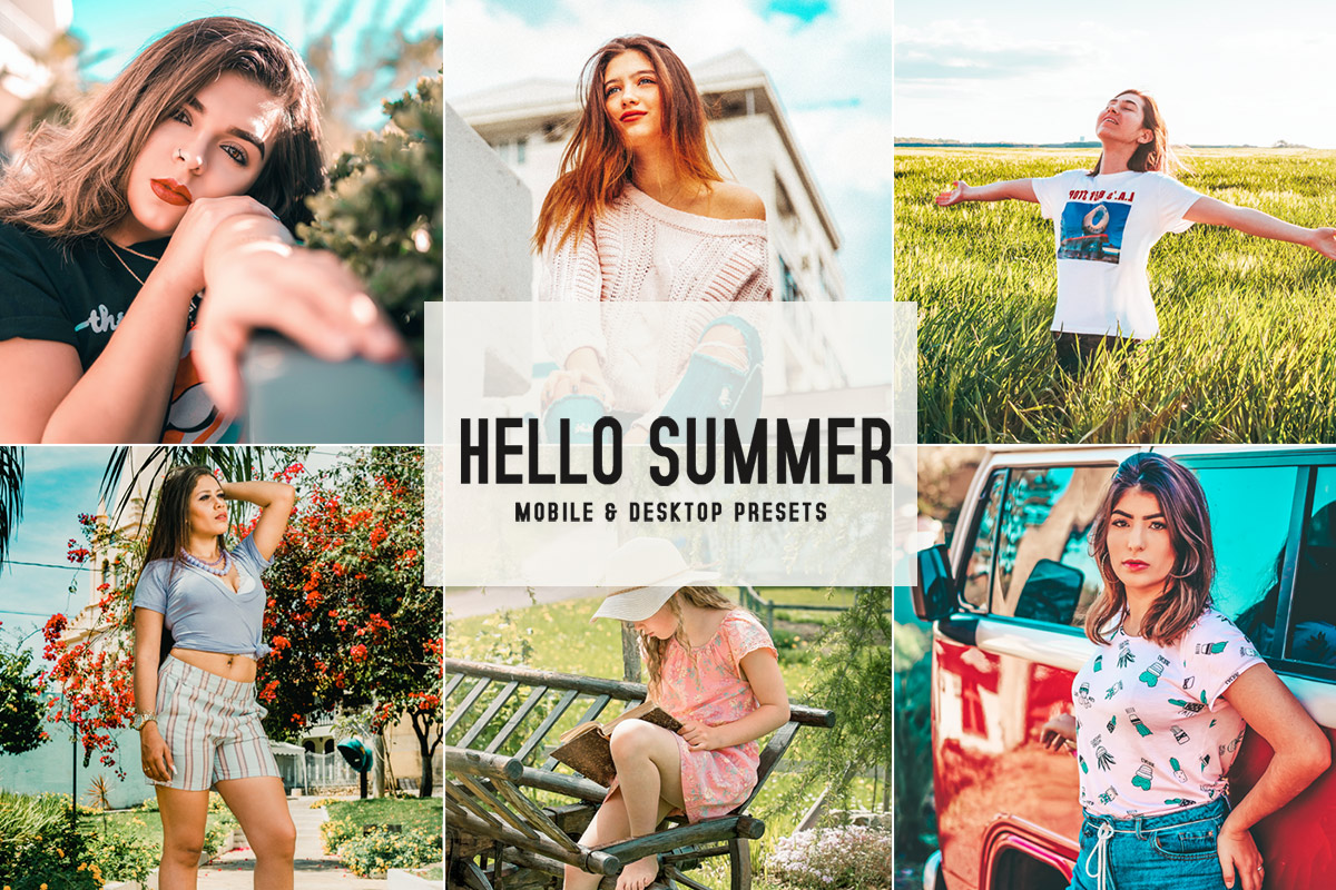 Free Hello Summer Lightroom Presets