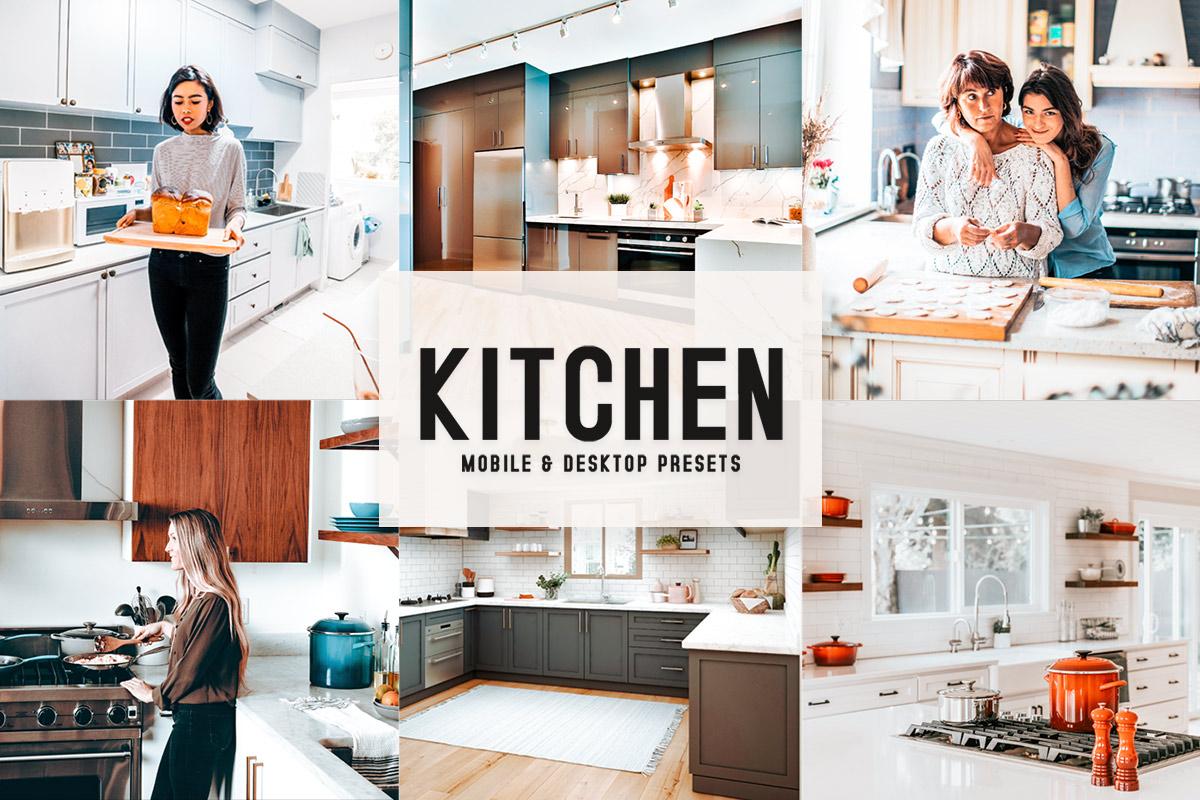 Free Kitchen Lightroom Presets