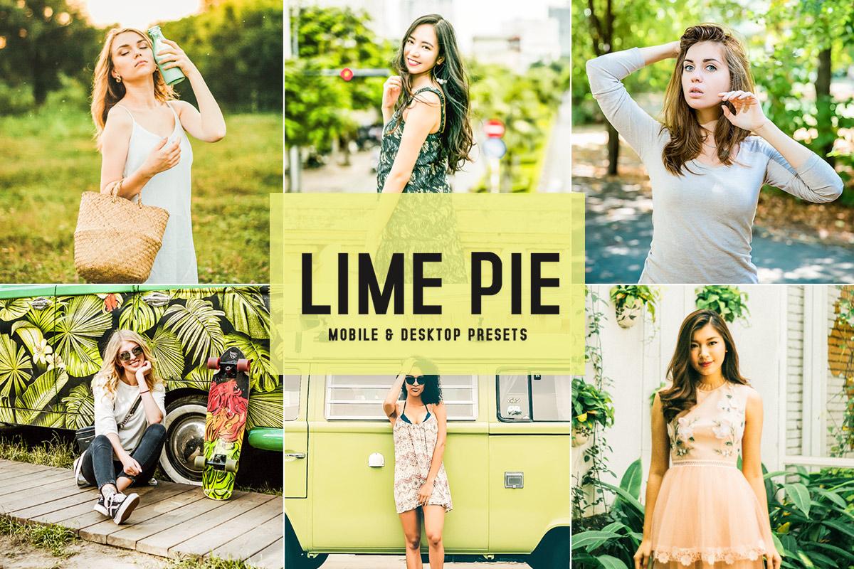 Free Lime Pie Lightroom Presets