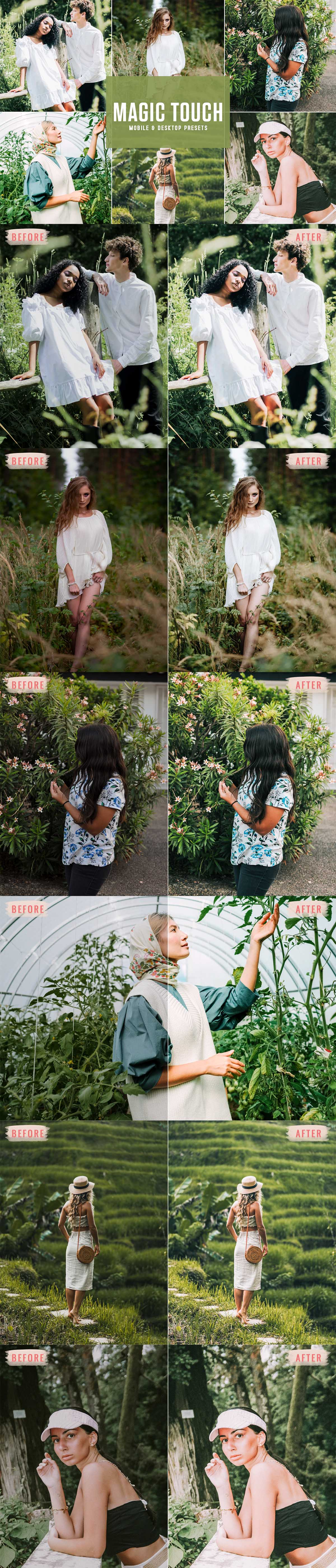 Free Magic Touch Lightroom Presets