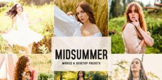Free Midsummer Lightroom Presets
