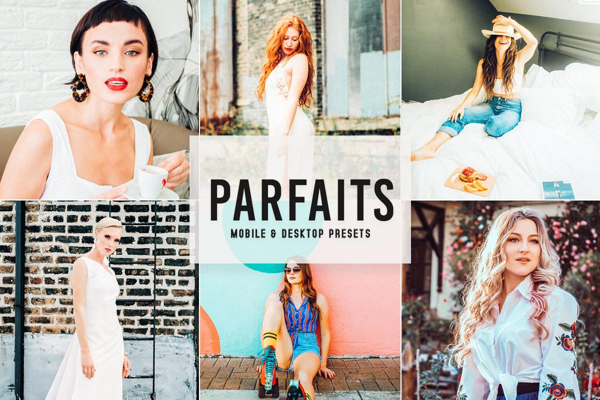 Free Parfaits Lightroom Presets
