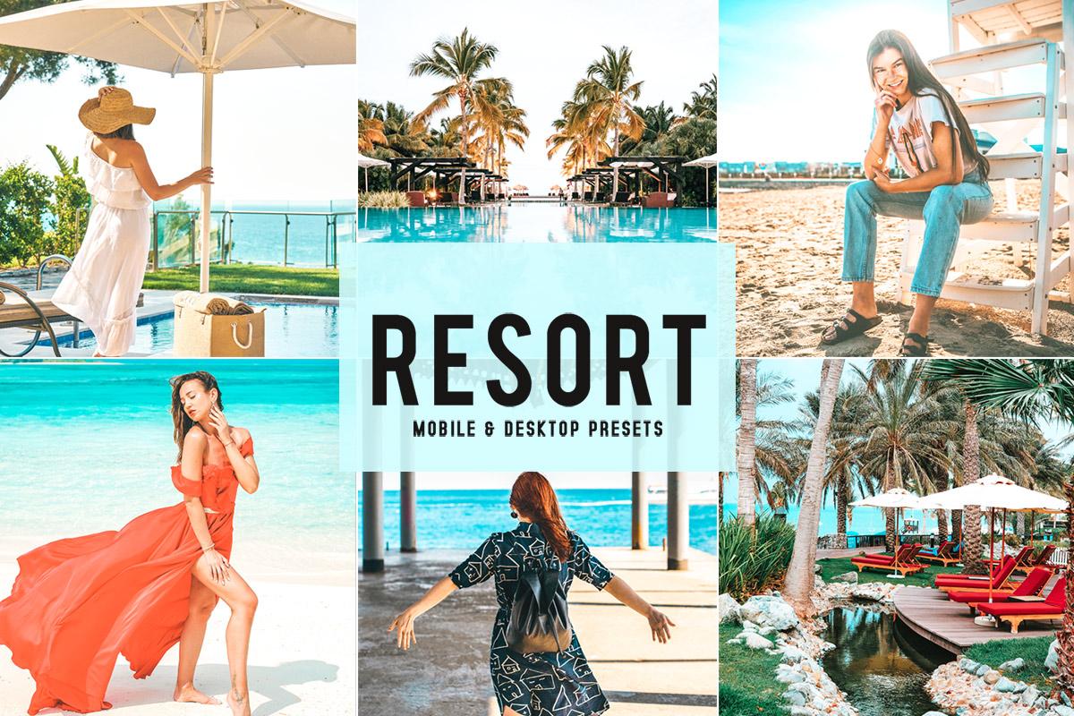 Free Resort Mobile & Desktop Lightroom PresetsFree Resort Lightroom Presets