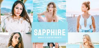 Free Sapphire Lightroom Presets