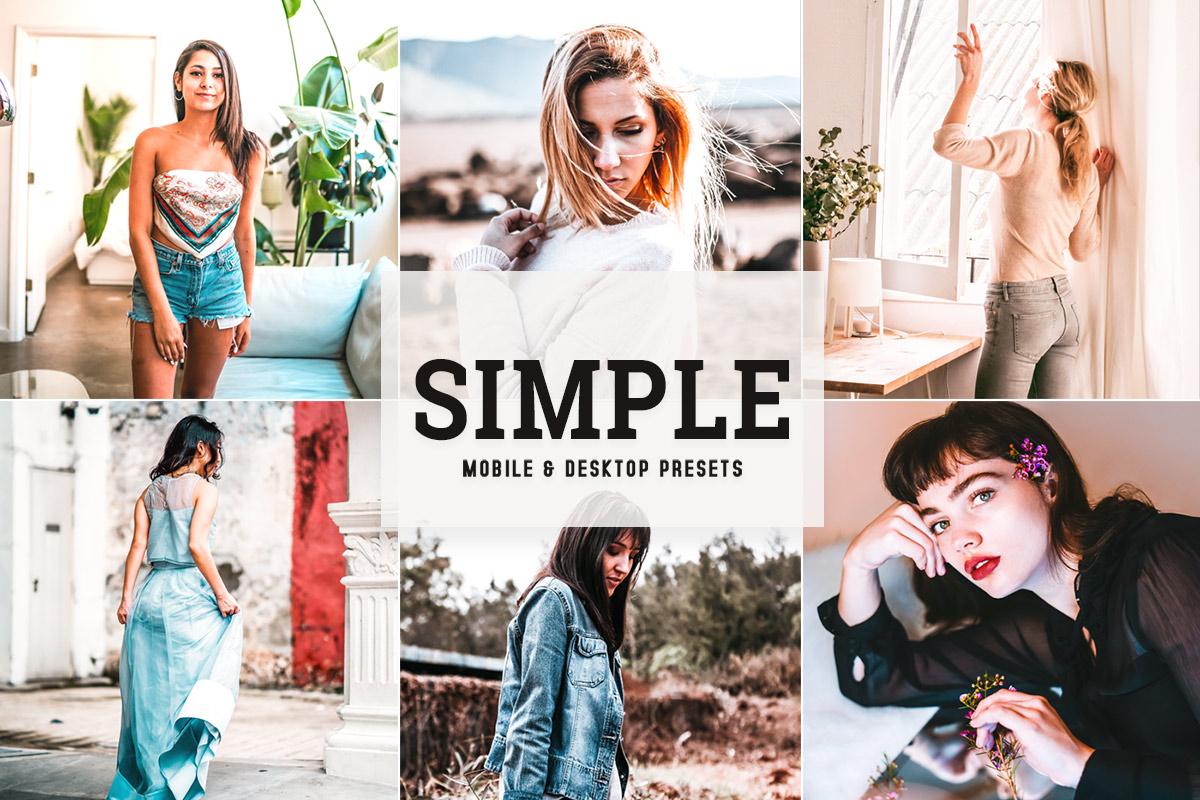 Free Simple Lightroom Presets