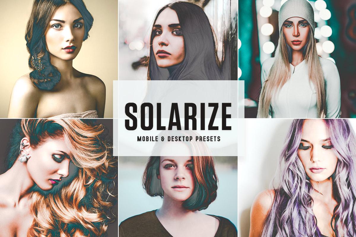 Free Solarize Lightroom Presets