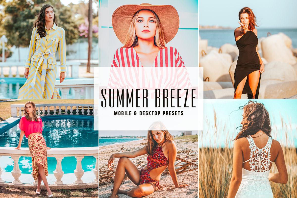 Free Summer Breeze Lightroom Presets