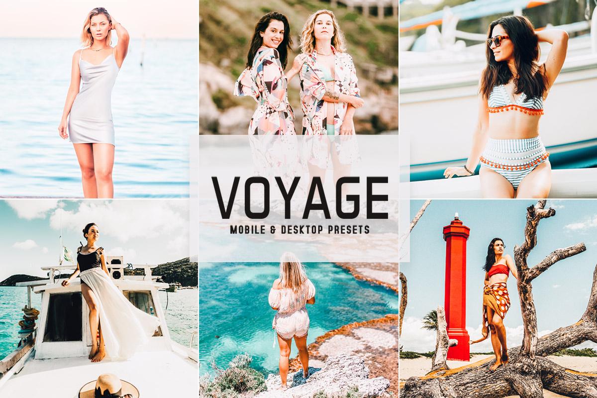 Free Voyage Lightroom Presets