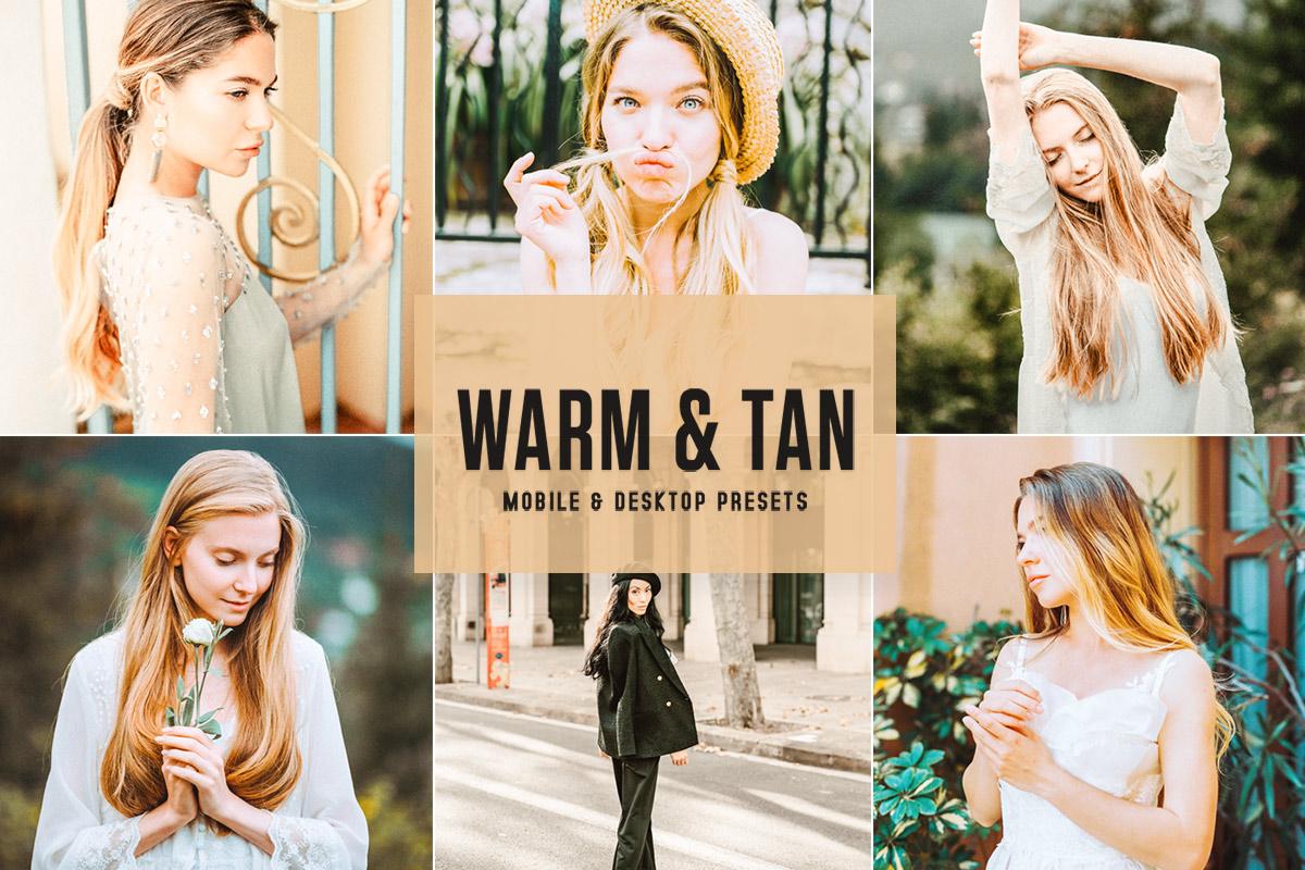 Free Warm & Tan Lightroom Presets
