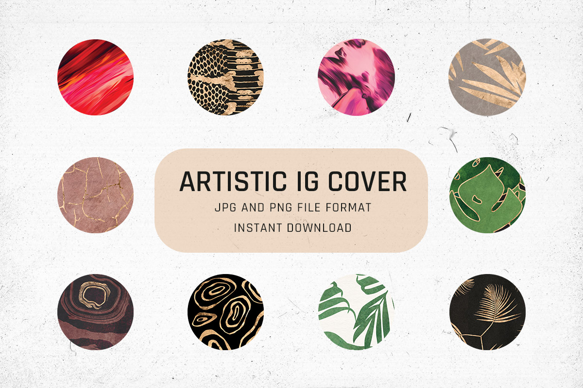 Free Artistic Instagram Highlight Covers