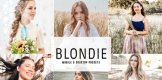 Free Blondie Lightroom Presets
