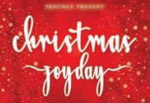 Free Christmas Joyday Script Font
