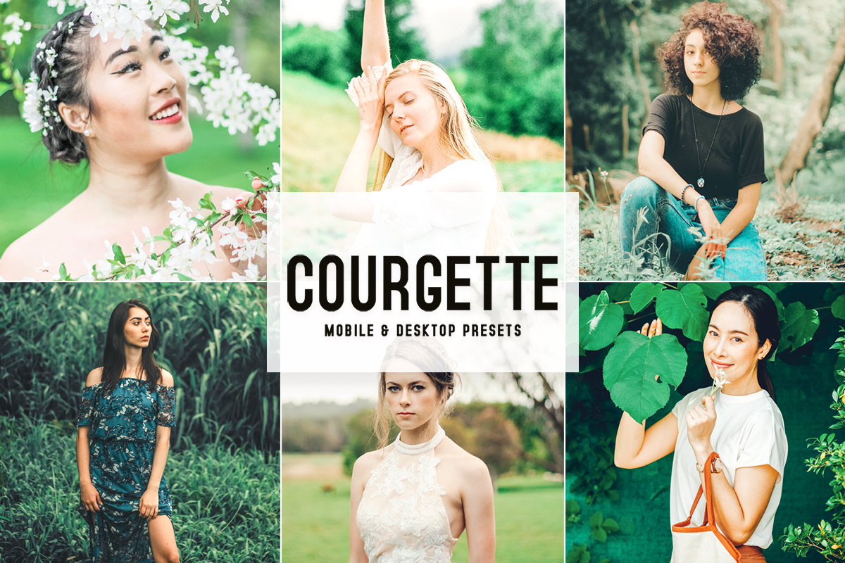 Free Courgette Lightroom Presets