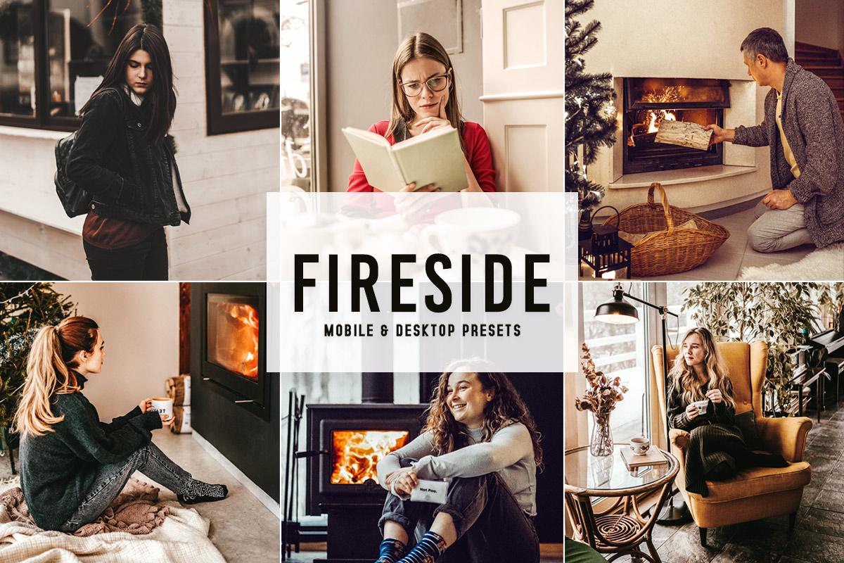 Fireside Mobile & Desktop Lightroom Presets