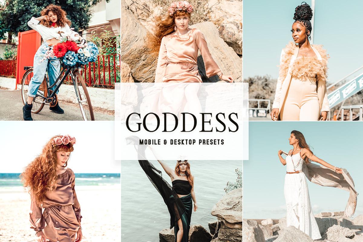 Goddess Lightroom Presets