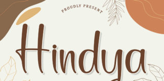 Free Hindya Calligraphy Font