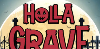 Free Holla Grave Display Font