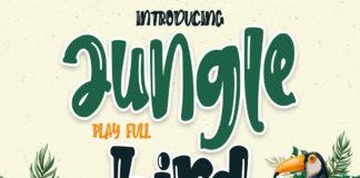 Free Jungle Bird Display Font