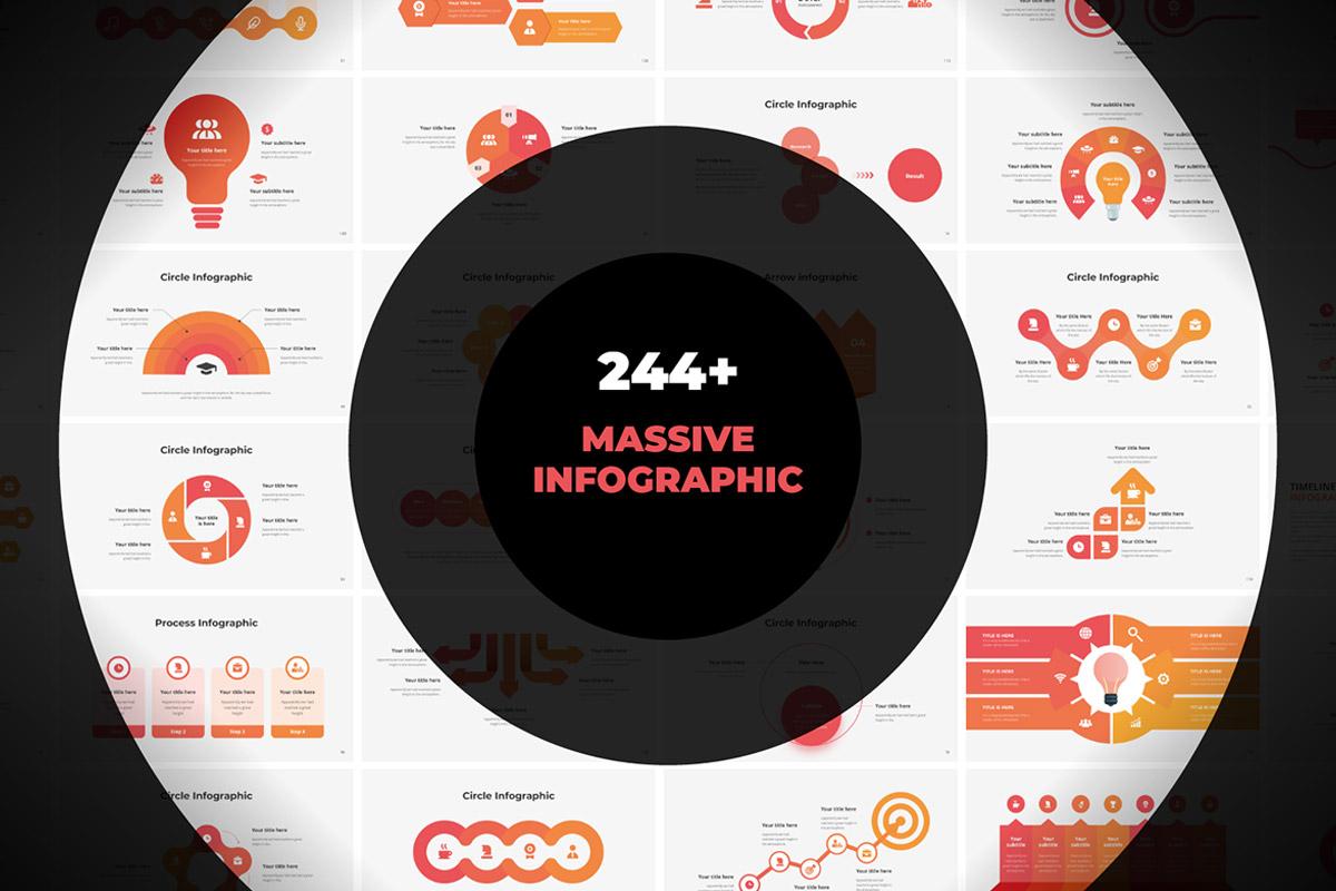 Free Massive Infographics Template