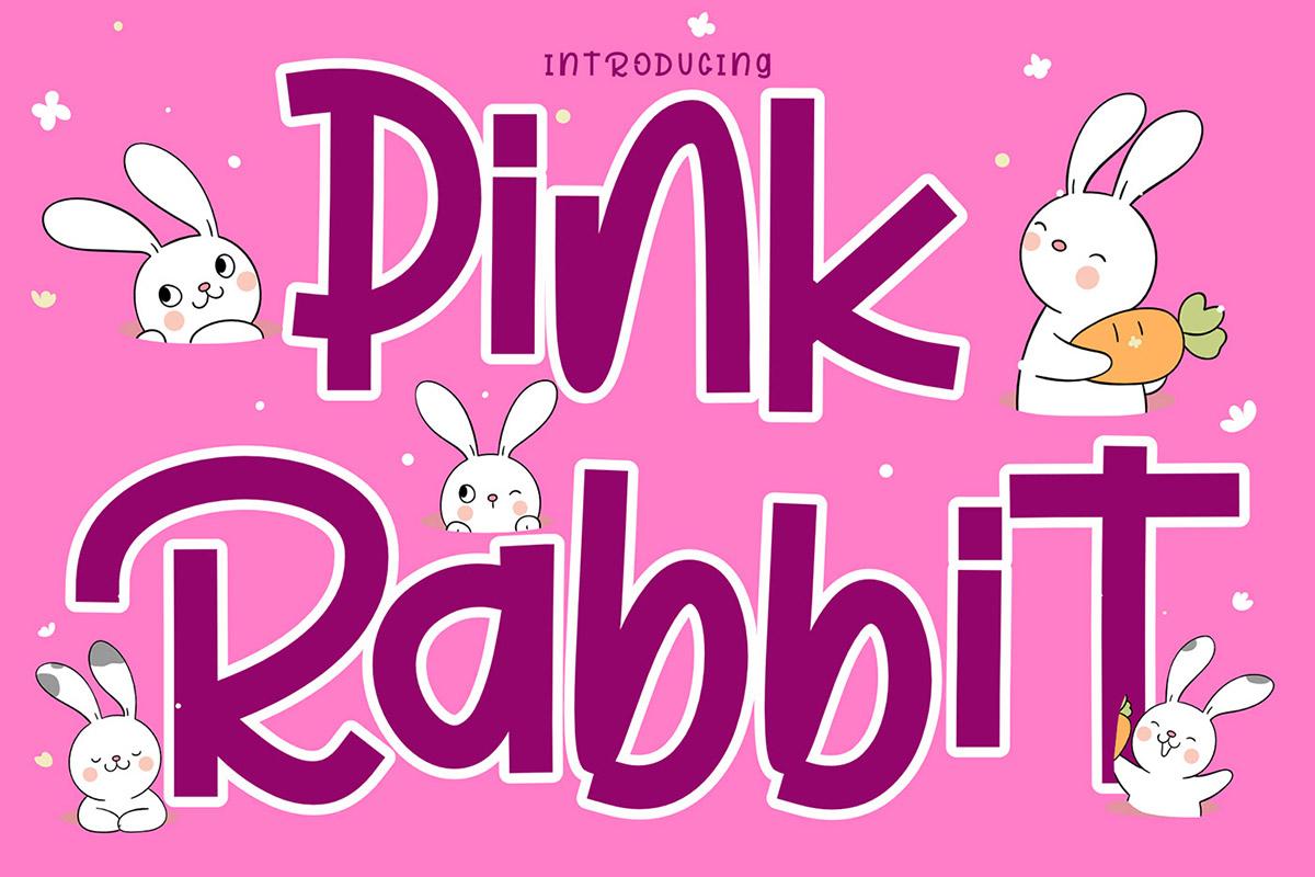 Free Pink Rabbit Display Font
