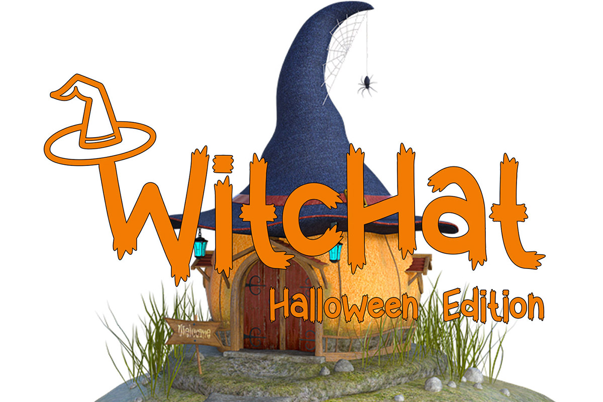 Witchat Display Font