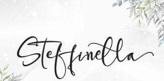 Steffinella Calligraphy Font