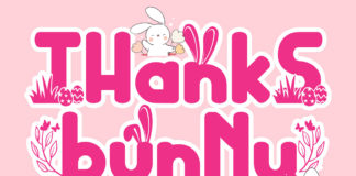 Thanks Bunny Playful Font