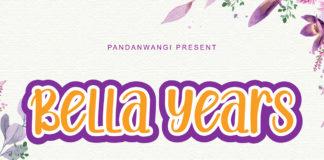 Bella Years Handwritten Font