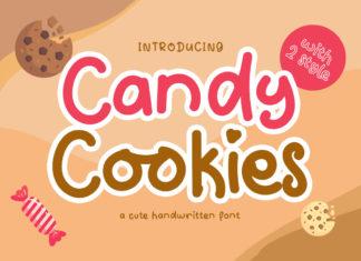 Candy Cookies Handwritten Font