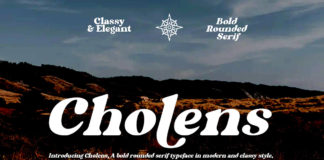 Cholens Serif Font