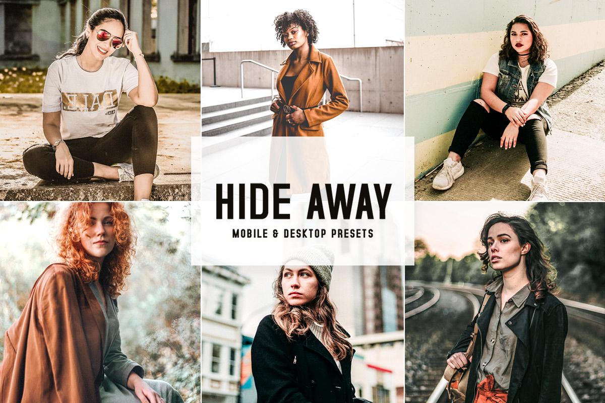Hide Away Lightroom Presets