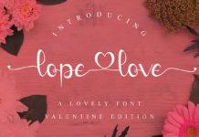 Lope Love Handwritten Font