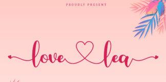 Love Lea Calligraphy Font