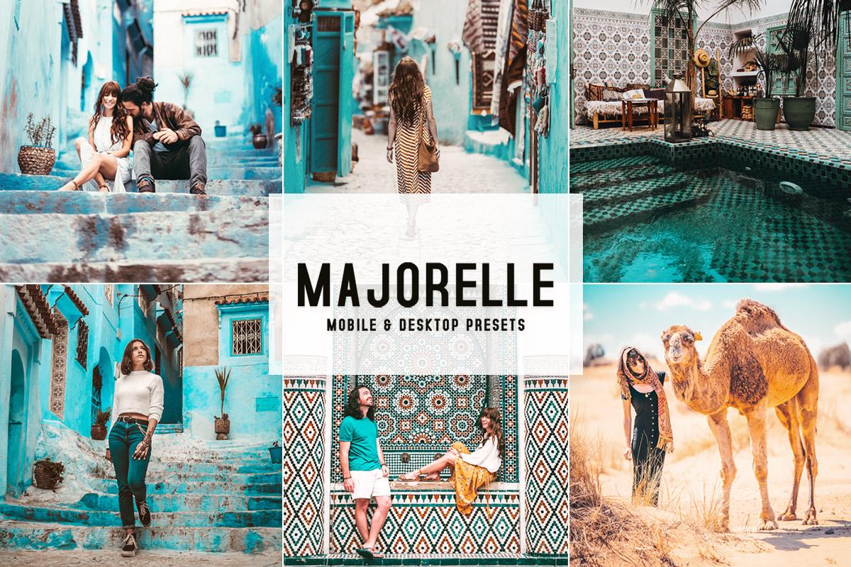 Majorelle Lightroom Presets