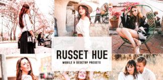 Russet Hue Lightroom Presets
