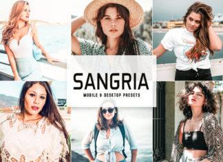 Sangria Lightroom Presets