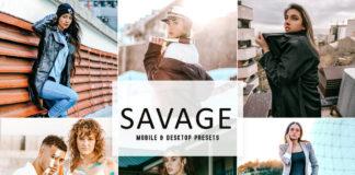 Savage Lightroom Presets