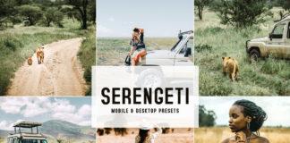 Serengeti Lightroom Presets